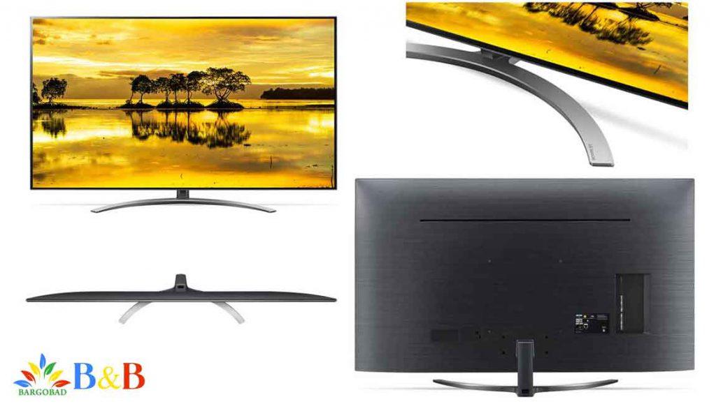 تلویزیون SM90 از پشت و رو