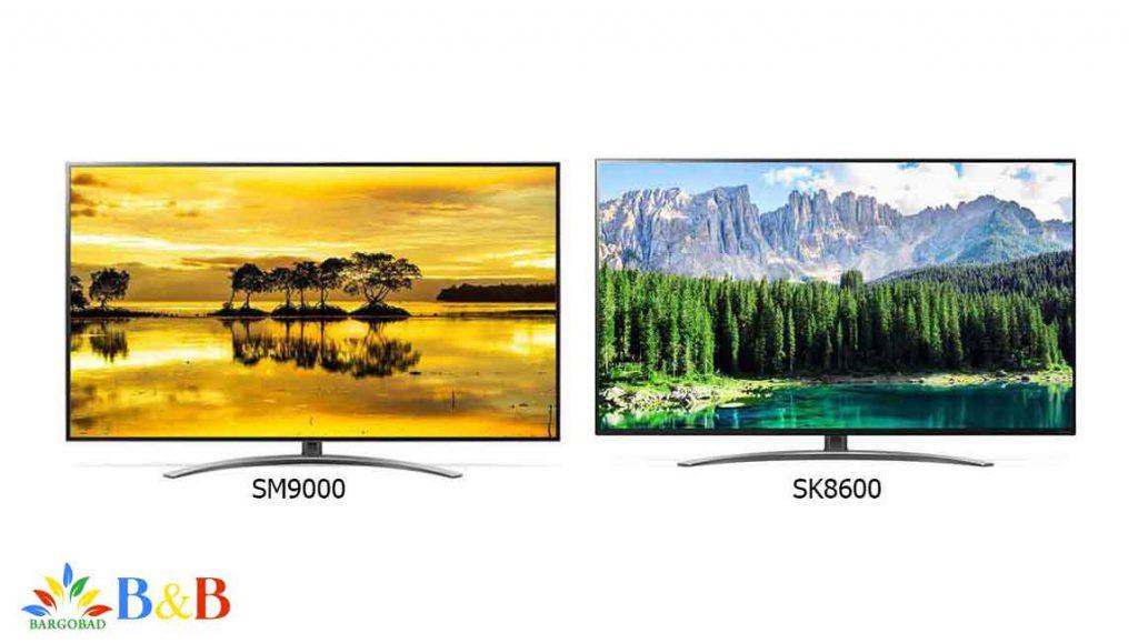 تلویزیون SM9000 و SM8600