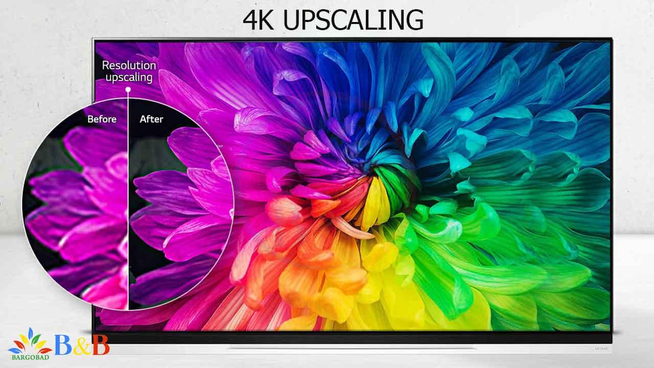 4K Upscaler در تلویزیون ال جی E9