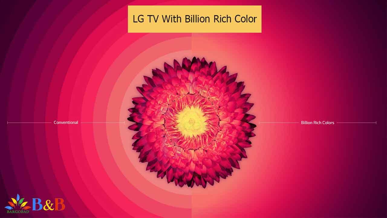 قابلیت Biliion Rich Colour تلویزیون E9