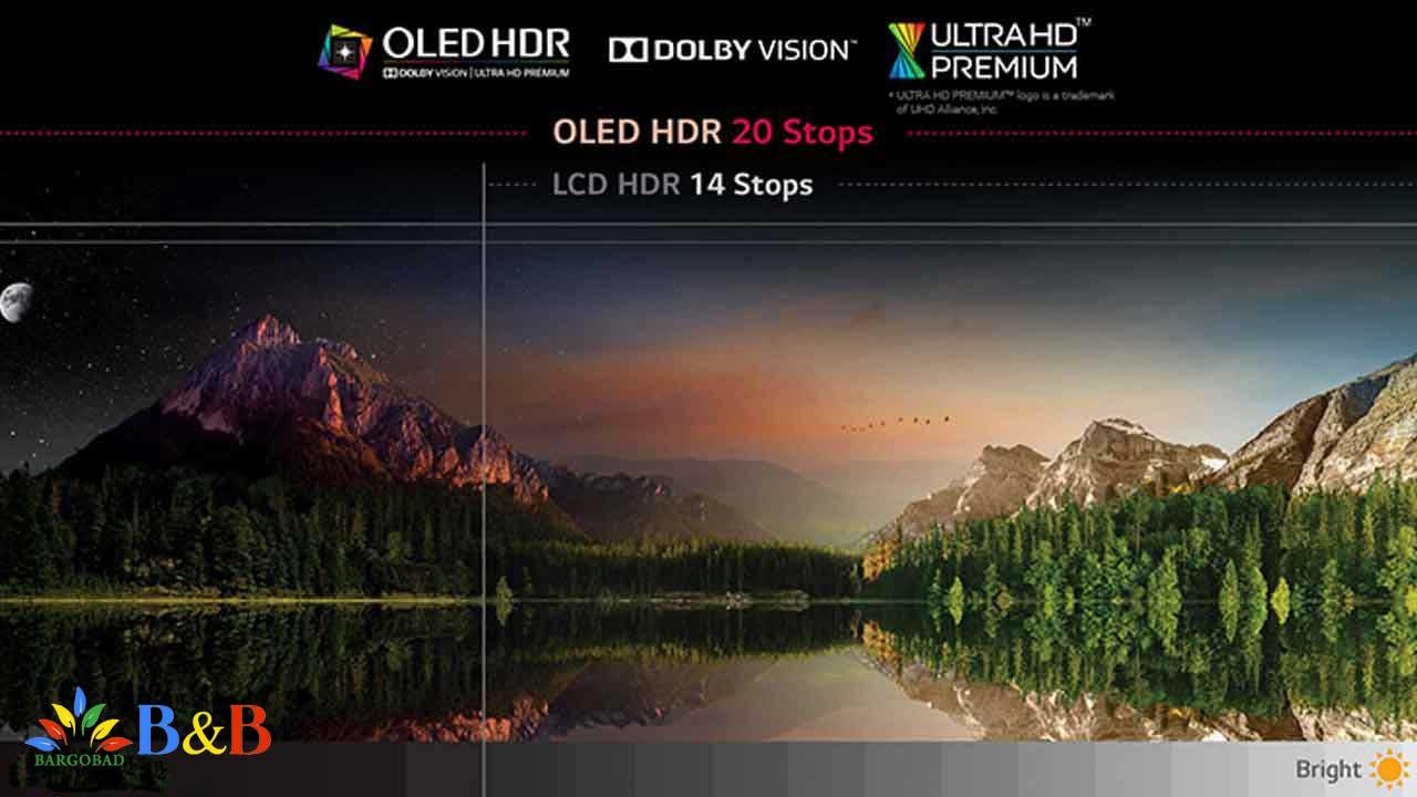 روشنایی در HDR
