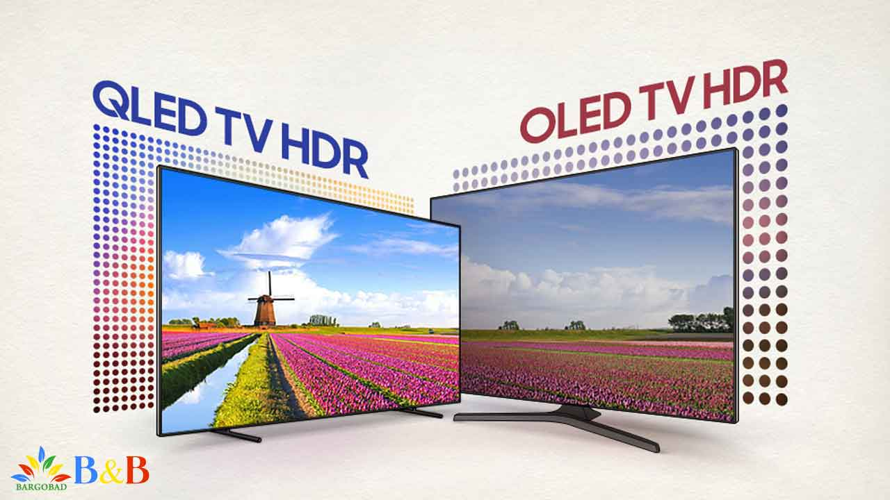 میزان روشنایی فناوری OLED و QLED