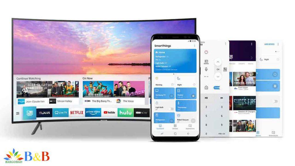 امکانات هوشمند تلویزیون NU7300