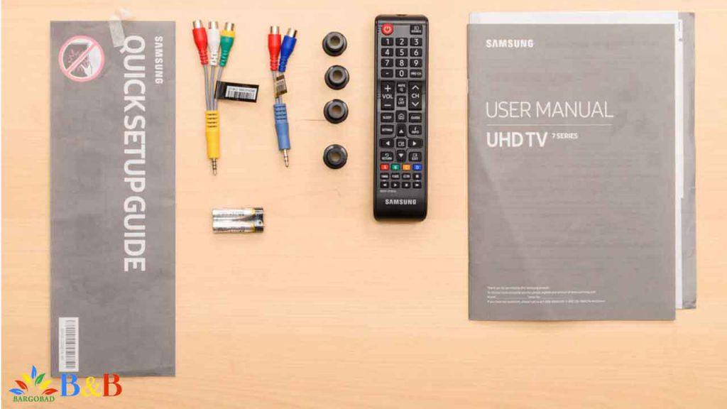 لوازم جانبی تلویزیون NU7300