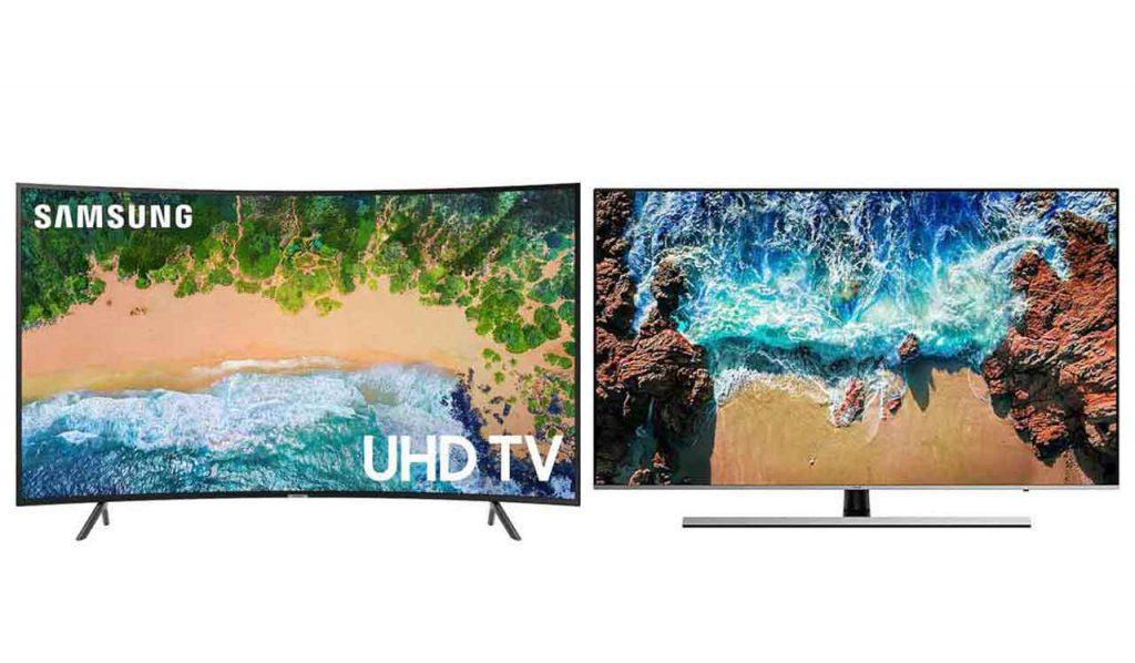 مقایسه تلویزیون سامسونگ NU7300 با سامسونگ NU8000