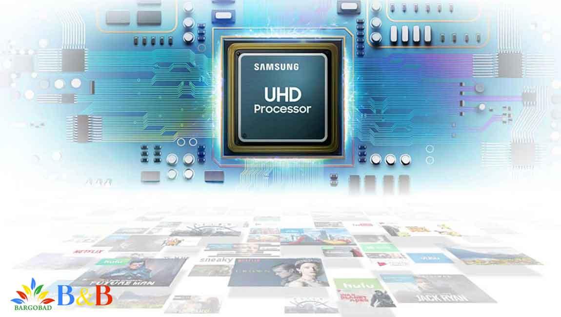 پردازنده چهار هسته ای تصویر UHD Engine