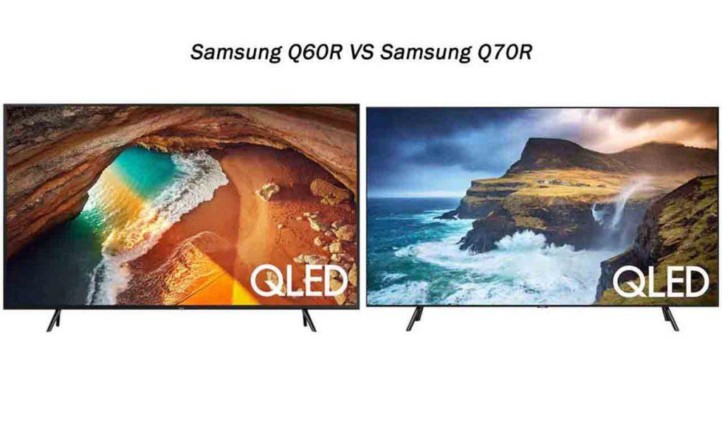 مقایسه تلویزیون سامسونگ Q60R با سامسونگ Q70R