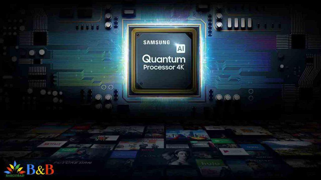 پردازنده Quntum Processor 4k در تلویزیون سامسونگ Q60R