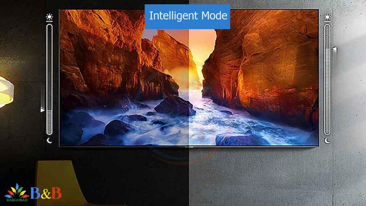 Intelligent Mode تلویزیون Q70R