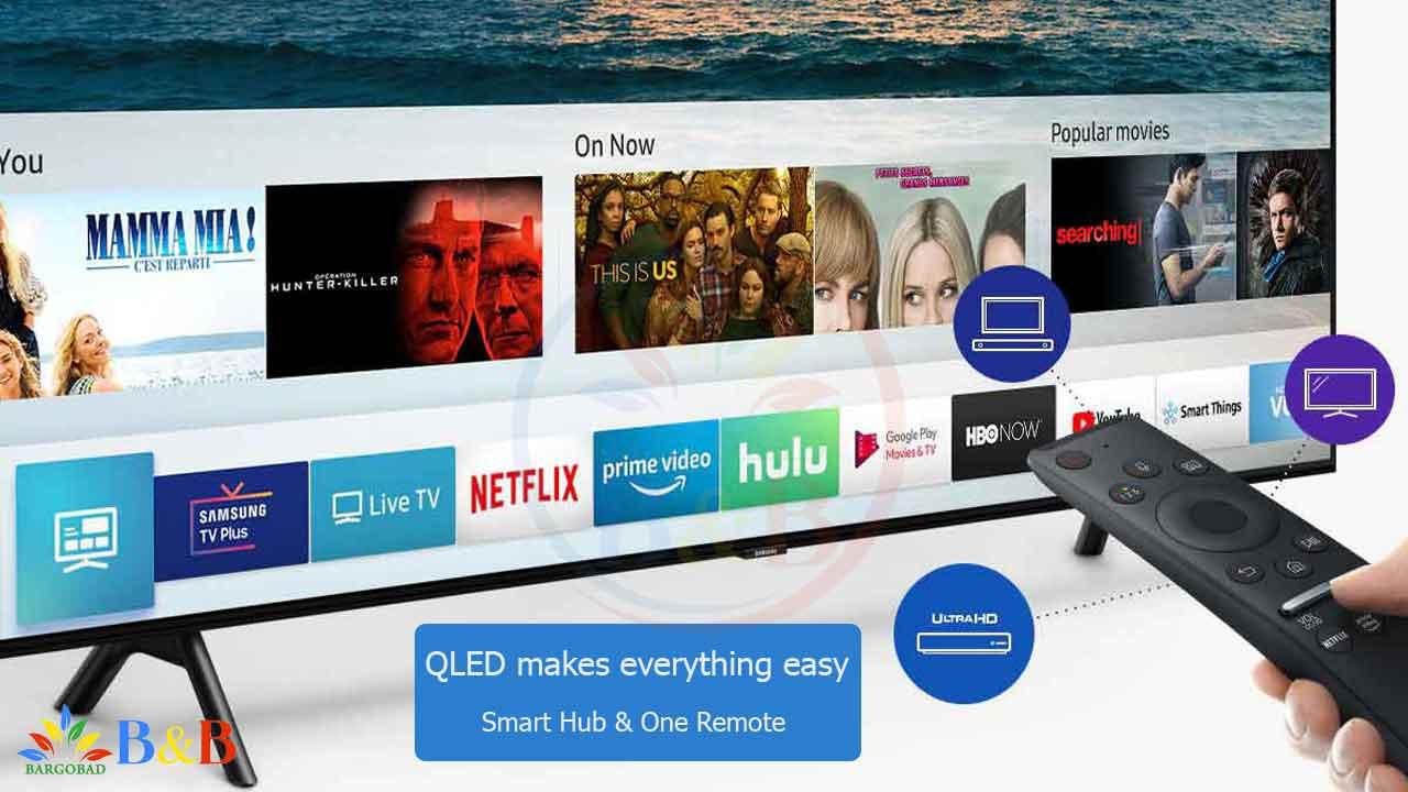 امکانات هوشمند تلویزیون Q70R