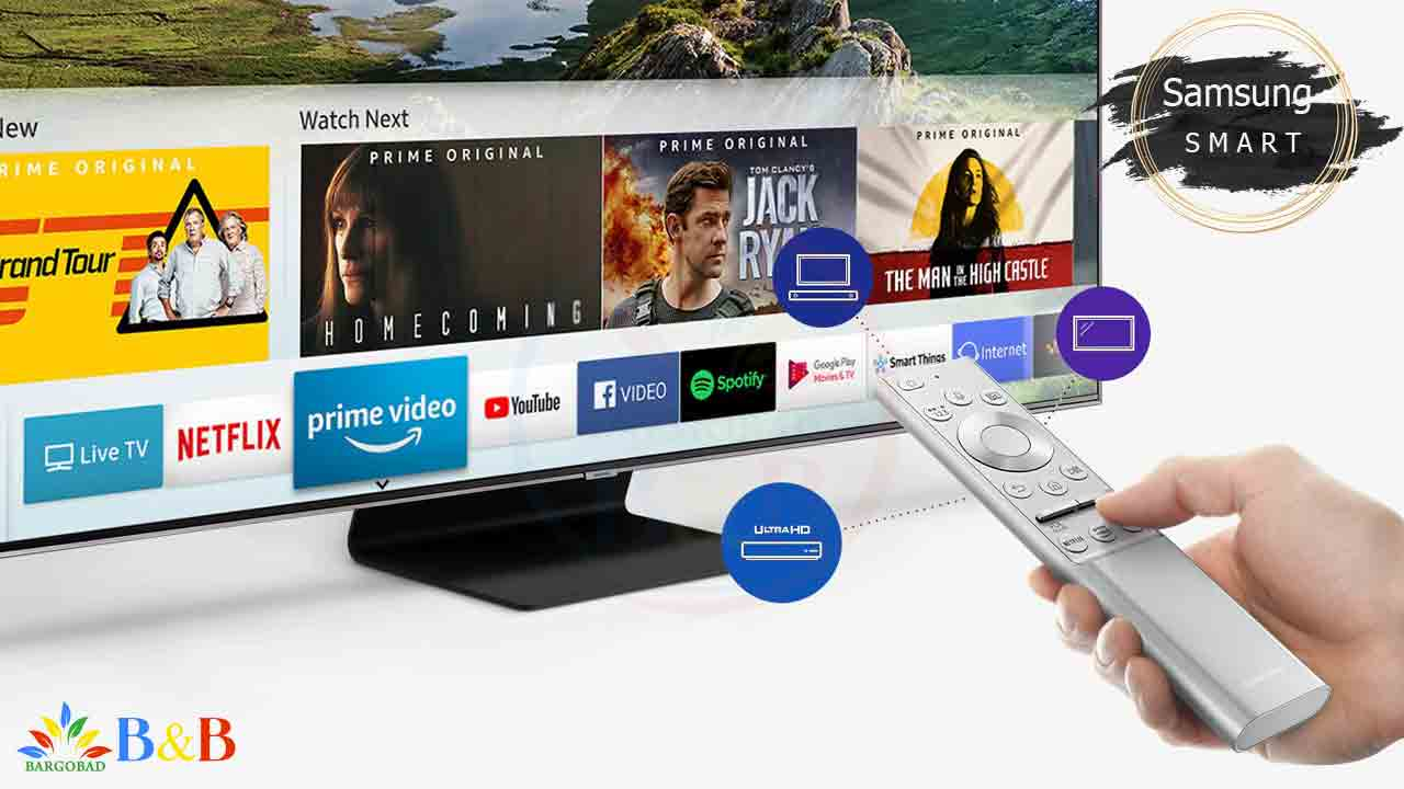 تلویزیون هوشمند Q90R