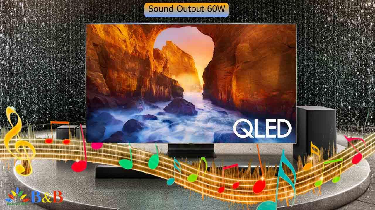 کیفیت صدای تلویزیون Q90R