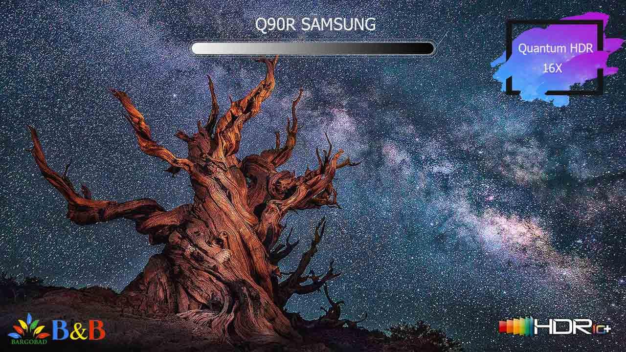 Quantum HDR 16X تلویزیون Q90R
