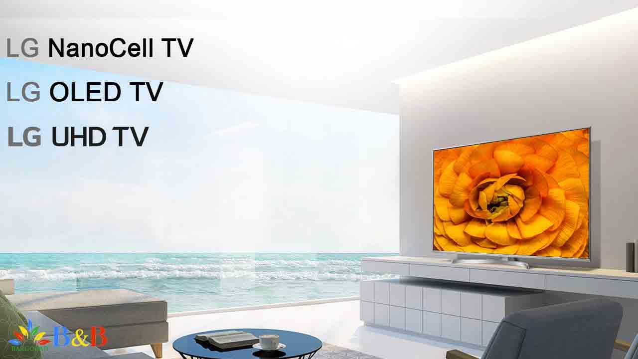 پرفروش ترین تلویزیون های 2020 ال جی