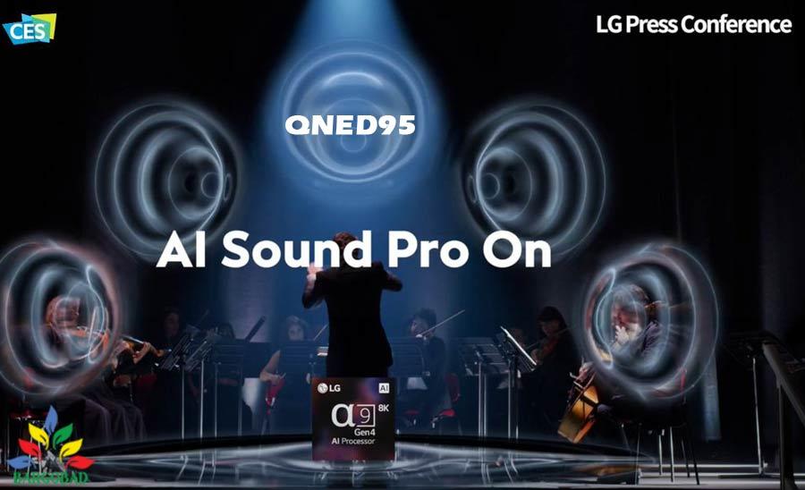 سیستم صوتی تلویزیون QNED95
