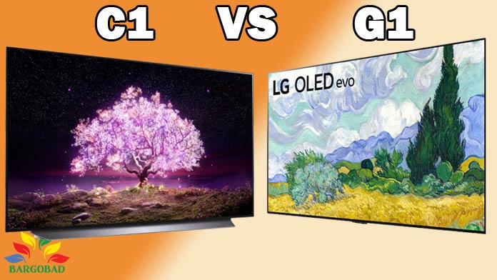 مقایسه تلویزیون های اولد C1 و G1