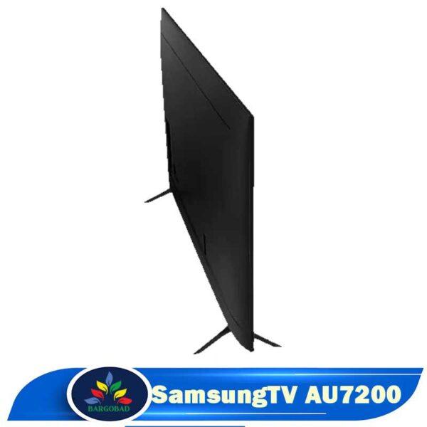 نمای پشت تلویزیون AU7200