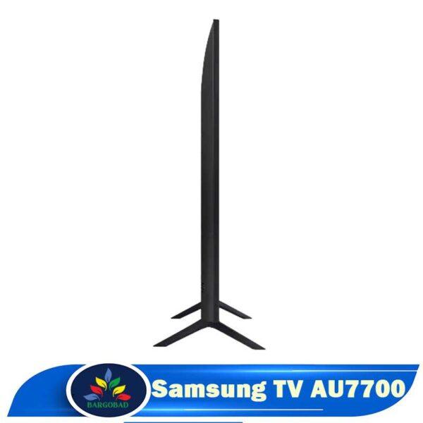 ضخامت تلویزیون AU7700
