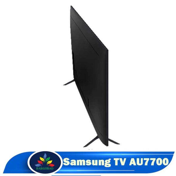 نمای پشت تلویزیون AU7700