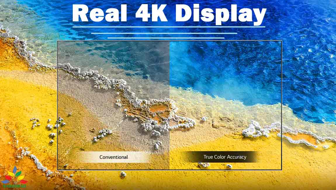 کیفیت تصویر تلویزیون ال جی UP7000