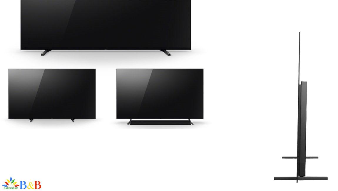 طراحی تلویزیون سونی A80J