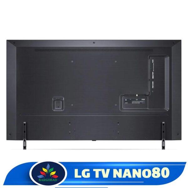 پشت تلویزیون ال جی NANO80