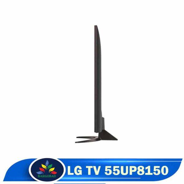 ضخامت تلویزیون UP8150
