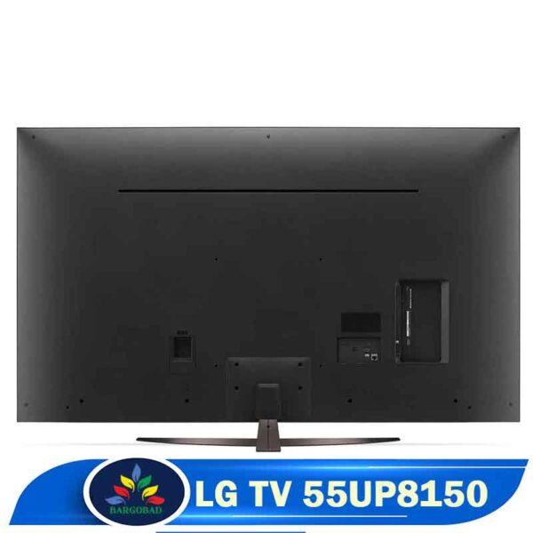 نمای پشت تلویزیون UP8150
