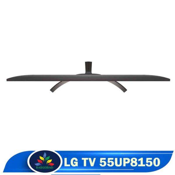 نمای بالای تلویزیون ال جی UP8150