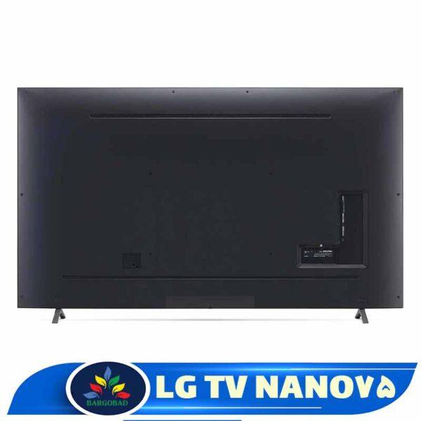نمای پشت تلویزیون ال جی NANO75
