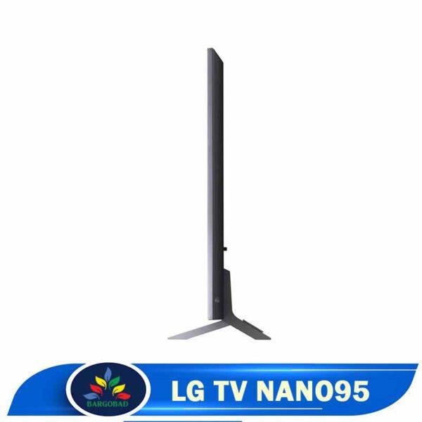 ضخامت تلویزیون ال جی NANO95