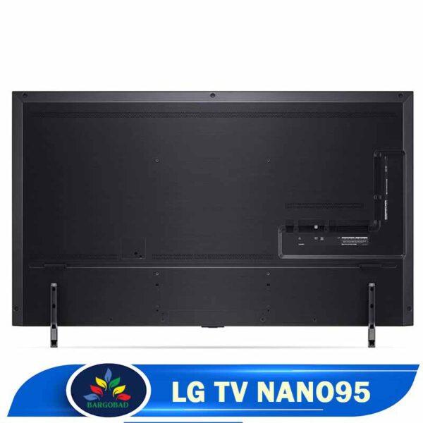 پشت تلویزیون ال جی NANO95
