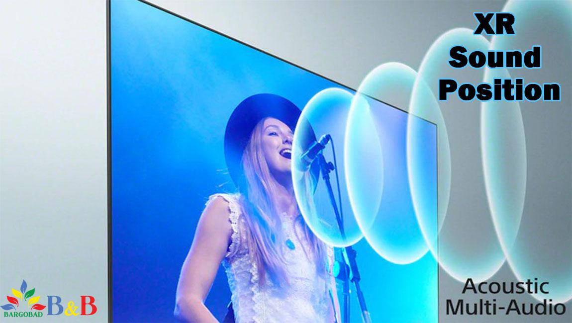 صدای آکوستیک تلویزیون سونی X9500J