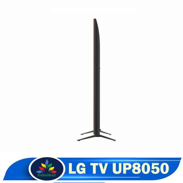 ضخامت تلویزیون ال جی UP8050