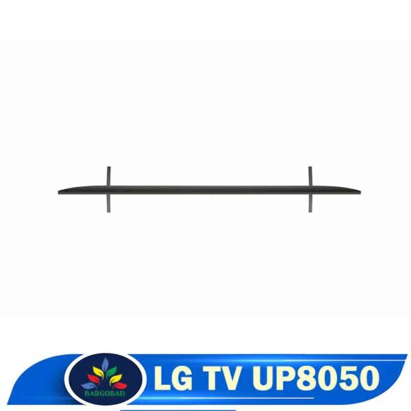 نمای بالای تلویزیون ال جی UP8050
