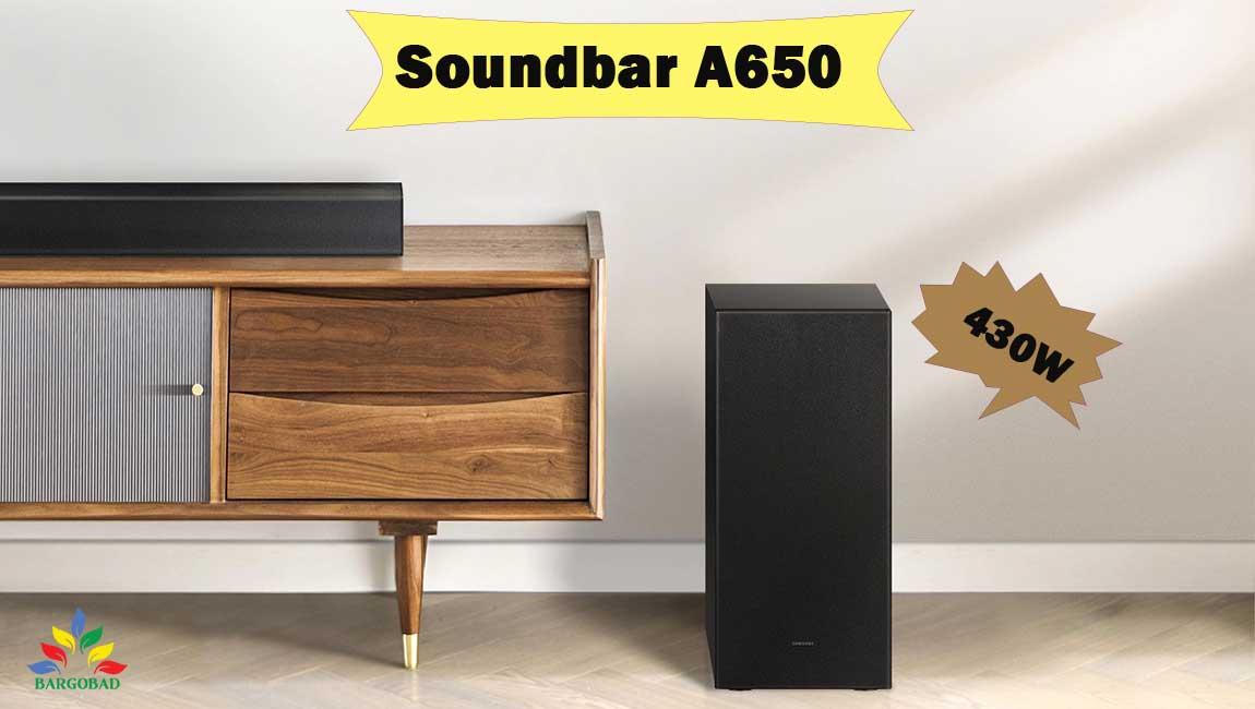 معرفی سیستم صوتی ساندبار سامسونگ A650