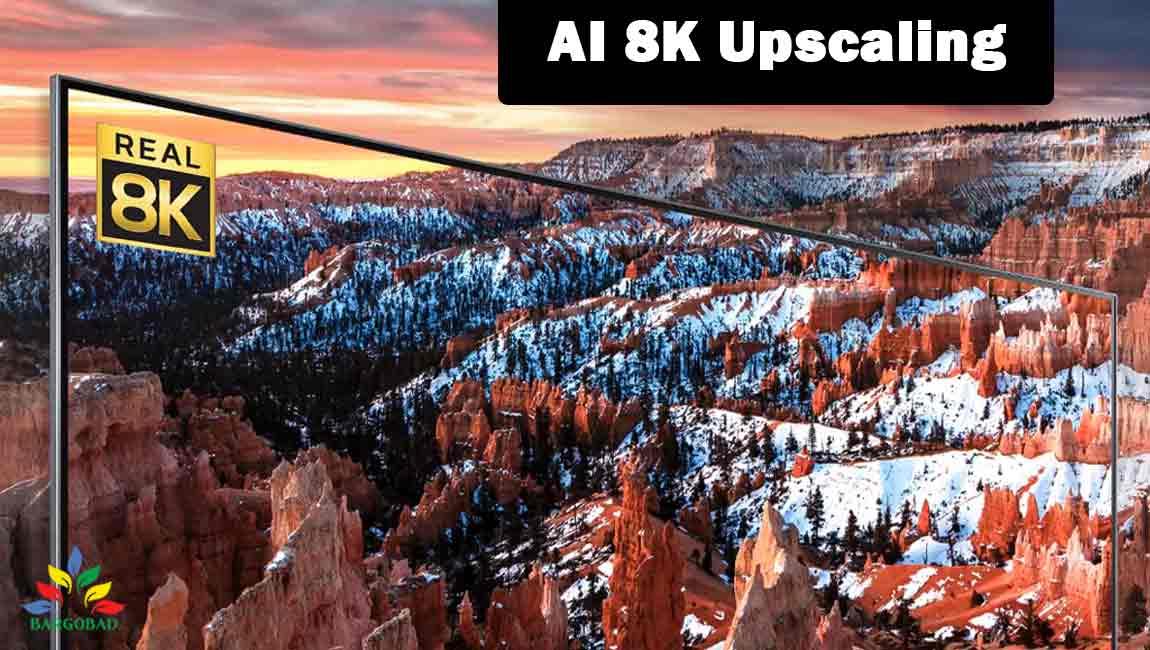 فناوری AI-8K-Upscaling در تلویزیون ال جی NANO95