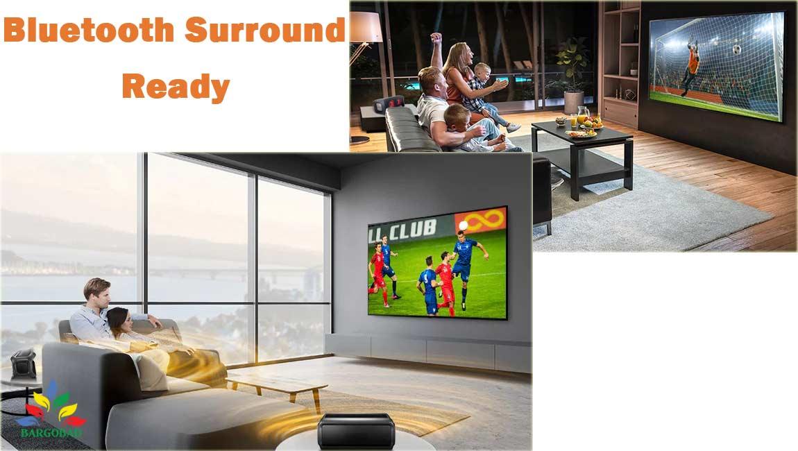 فناوری Bluetooth-Surround-Ready در تلویزیون ال جی NANO95