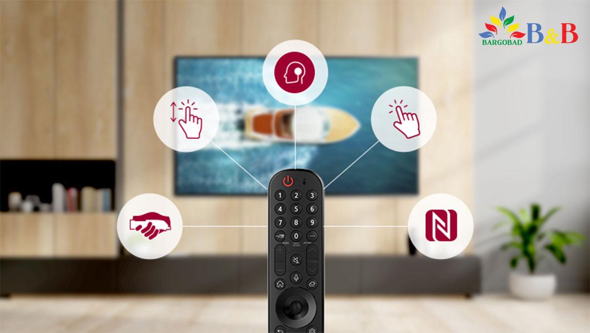 ریموت کنترل تلویزیون نانو 75 ال جی