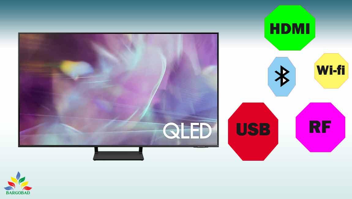 درگاه های ارتباطی تلویزیون q65a