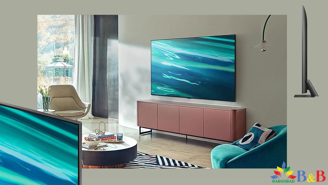 طراحی تلویزیون سامسونگ Q80A
