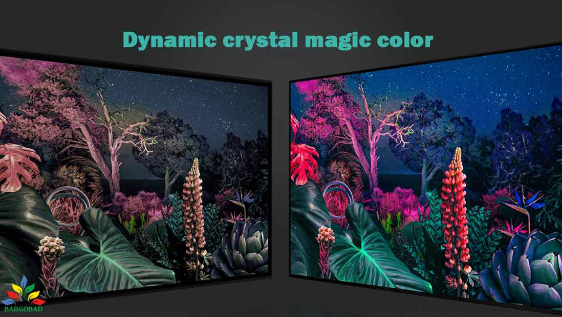 فناوری Dynamic crystal magic color