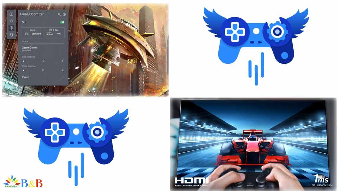 قابلیت بازی در تلویزیون ال جی G1