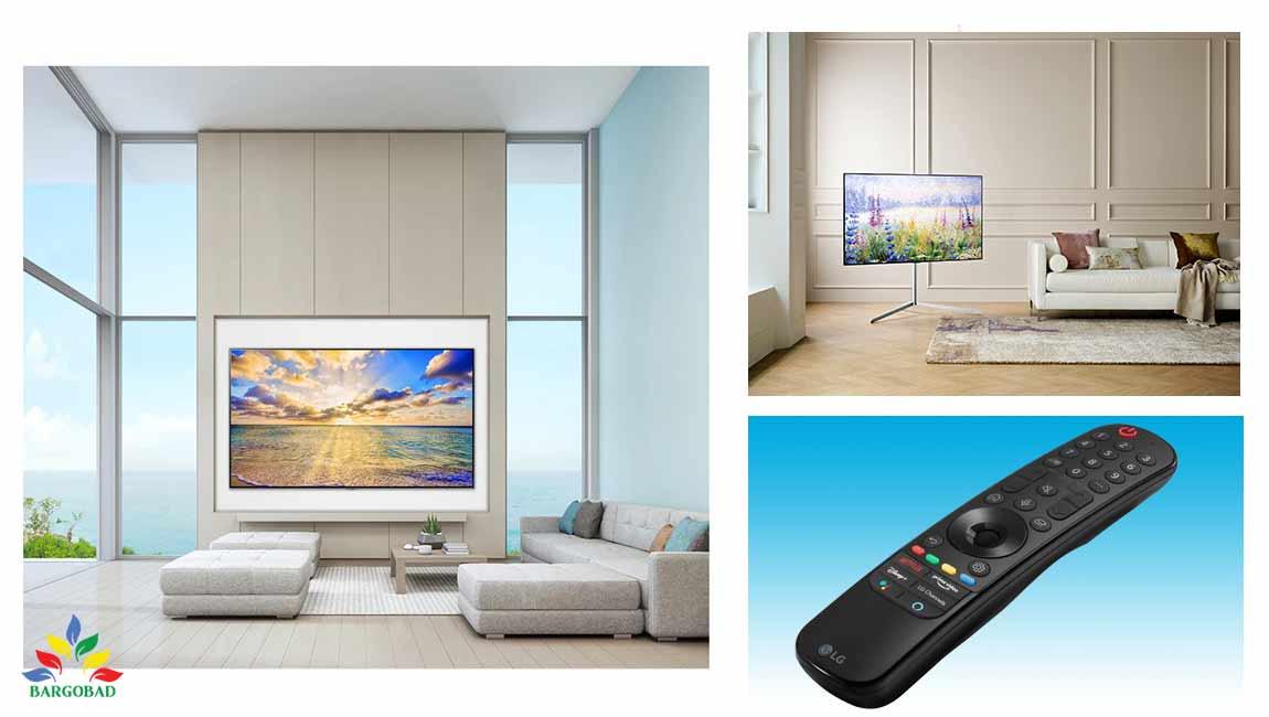 طراحی تلویزیون ال جی NANO95
