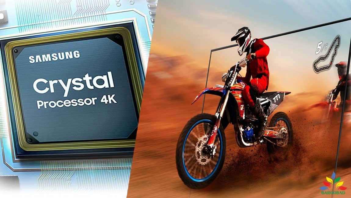 پردازنده Crystal Processor 4k