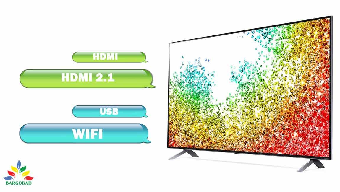 پورت های ارتباطی تلویزیون ال جی NANO95