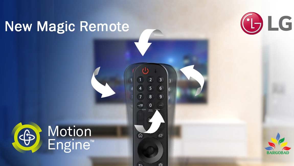 ریموت کنترل تلویزیون ال جی NANO95
