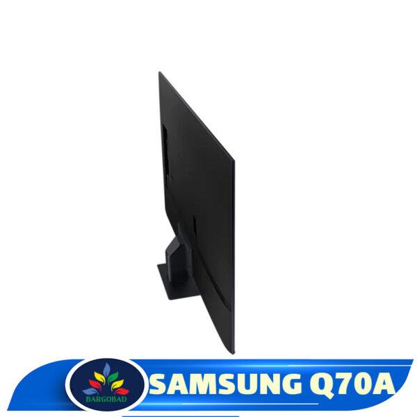 نمای پشت تلویزیون Q70A