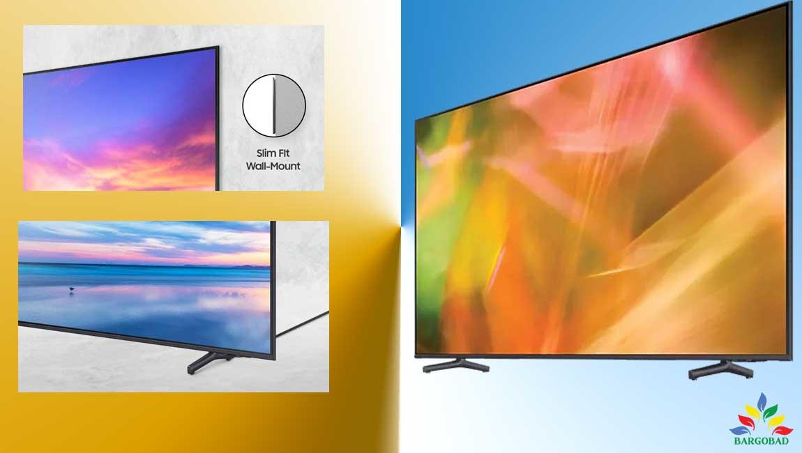 طراحی تلویزیون سامسونگ AU8100