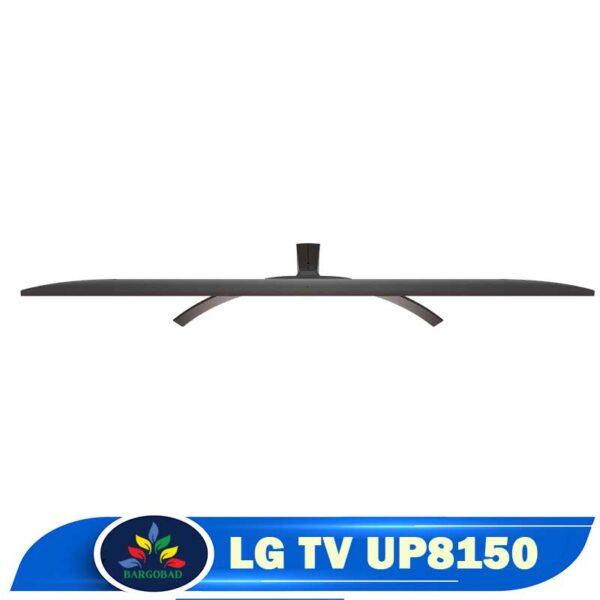 تلویزیون ال جی UP8150 از بالا